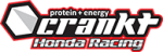 Crankt Protein Honda Racing Team